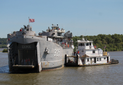 The USS LST 325 Has Docked In Peoria