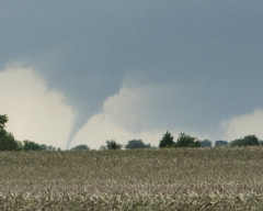 Tornado between Odell & Dwight