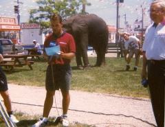 News 25 @ Noon live at the HOI fair 96'