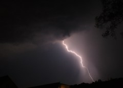 Lightning in North Pekin
