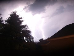lightening over Farmington