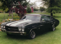 My 1970 Chevelle SS 396 cool ride