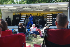 Lee Hall as Elvis Marigold Festival