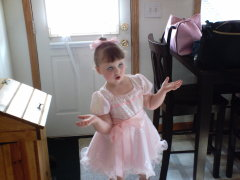 About my little ballerina