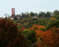 An Autum Look at the Heights Tower