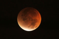 This morning's lunar eclipse