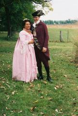 My 18th century wedding