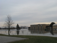 Flooding in Pontiac