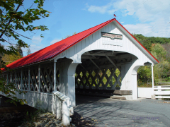 White Covered Bridge