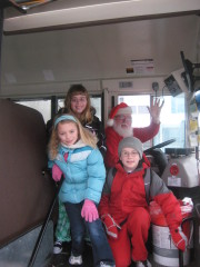 Santa Claus The Bus Driver