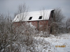 Our Snowy Barn