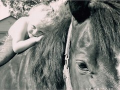 Xena and her horse Robin