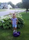 Hunter $ Hannah Epkins 1st day of school