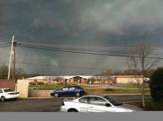 Tornado near Franklin TN last Friday.