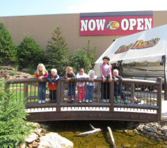 Visiting Bass Pro Shop
