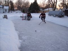 Hockey after the storm