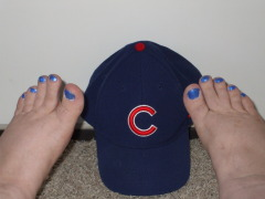 Paint them blue - GO CUBS GO!!!