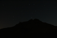 Big Dipper over the Sacramento Mts.