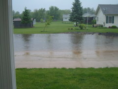 Flooding from storms