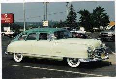 original  stock 1950 Nash Ambassador