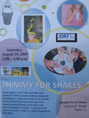 Shimmy For Shakes Fundraiser for JDRF