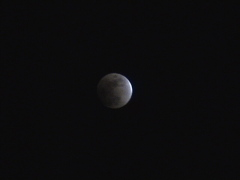 Lunar Eclipse 9 pm