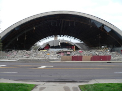 Fieldhouse demolition