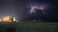 Thunderstorm over Myrtle Beach South Car