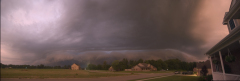 Panoramic View of Storm Front