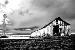 Old barn in Galesburg