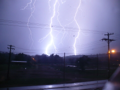 amazing lighning strike pic