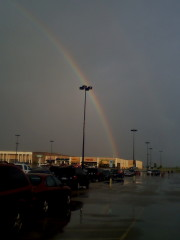 Rainbow over Pekin