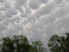 Mammatus Clouds 5/22/11