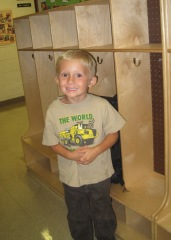 Brady's first day of Pre-K!