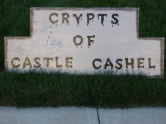 the Crypts of Castle Cashel