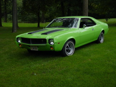 1969 Big Bad Green Javelin