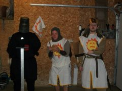 King Arthur, Patsy and the Black Knight