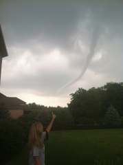 Tornado in Morton!