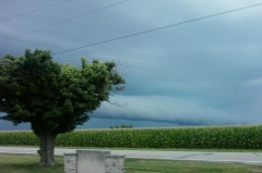 Storm Headed for Hopedale, IL