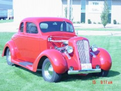 Hand built hot rod in 18 Months
