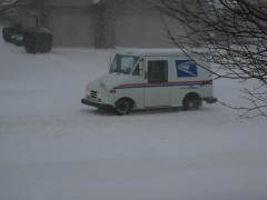 Delivering the mail