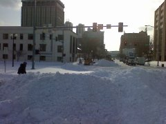 downtow peoria snow removal