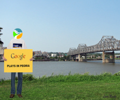 GOOGLE PLAYS IN PEORIA