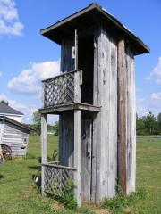 Two Story Outhouse