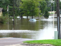 Flooding in Roanoke