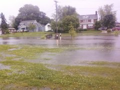 Flooding in Tremont