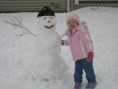 I Love You Mr. Snowman!