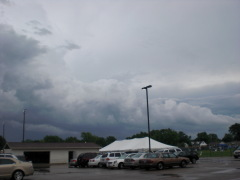 Weather over Morton Relay For Life