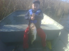 Liam's First Big Bass