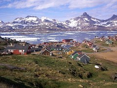 I'VE BEEN EVERYWHERE:  The town of Ammassalik on the eastern coast of Greenland